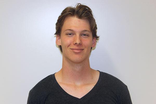 Globe College student David