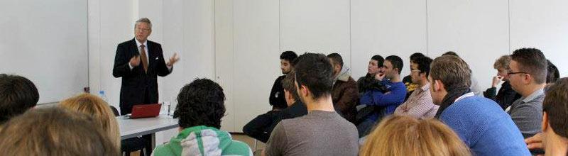 Dr Herbert Wettig Guest Lecture