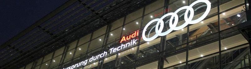 Audi Forum Industrial Visit