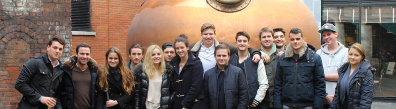 Globe College Industrial Visit to Dublin, 2015