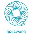 Accredited by QQI logo