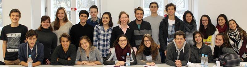 Rio de Janiero School Visits Globe Business College in 2015