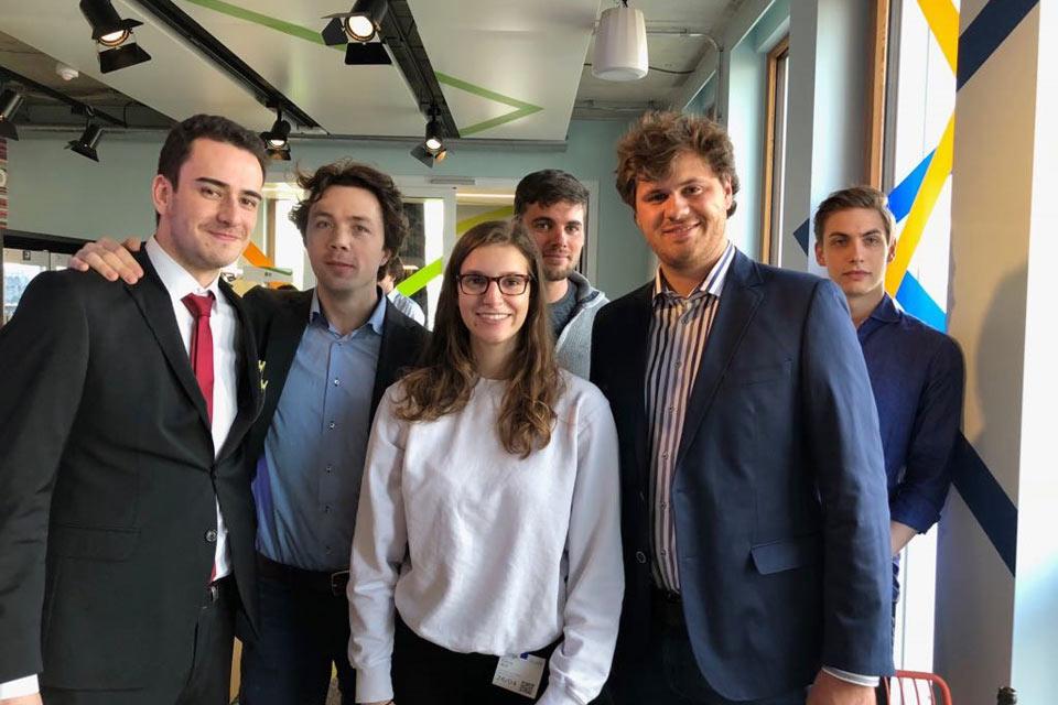 Globe students visit Google Munich, April 2018