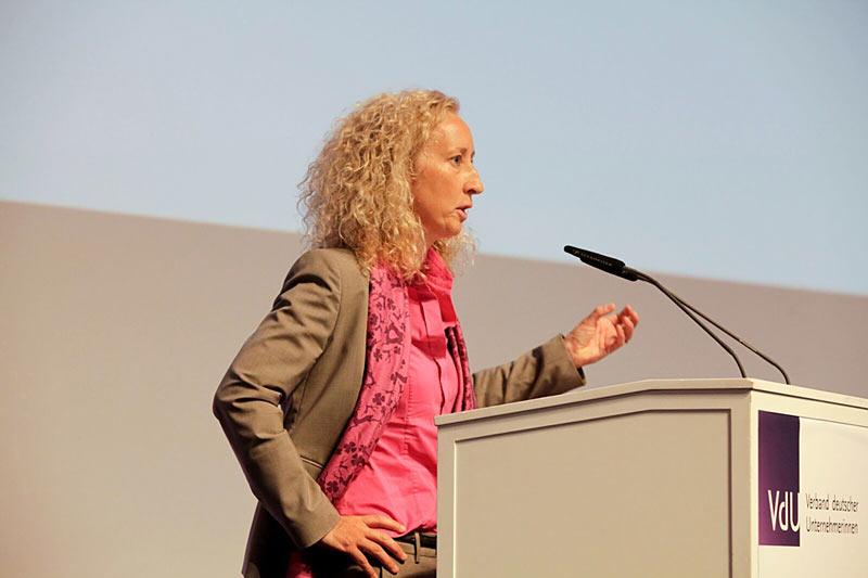 Dr Susan Walsh at VdU Jahresversammlung 2018