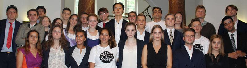 Navigator Business Summer School Participants, July 2018
