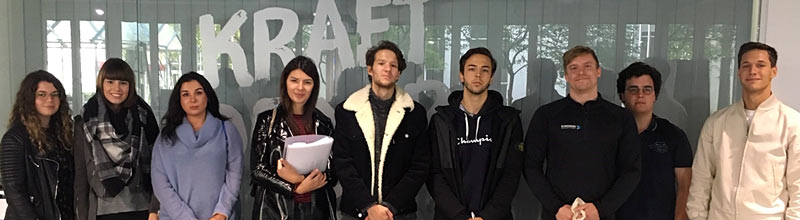 Globe College students visit Blankenburgs Gesundheit & Sport GmbH