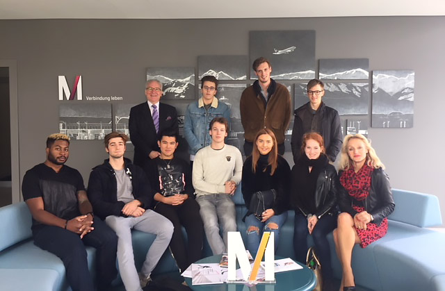 1st Year Students Visit to Munich Airport