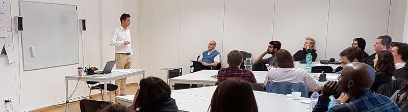 Guest Lecture: Pawel Szydlowski, Globe Alumnus