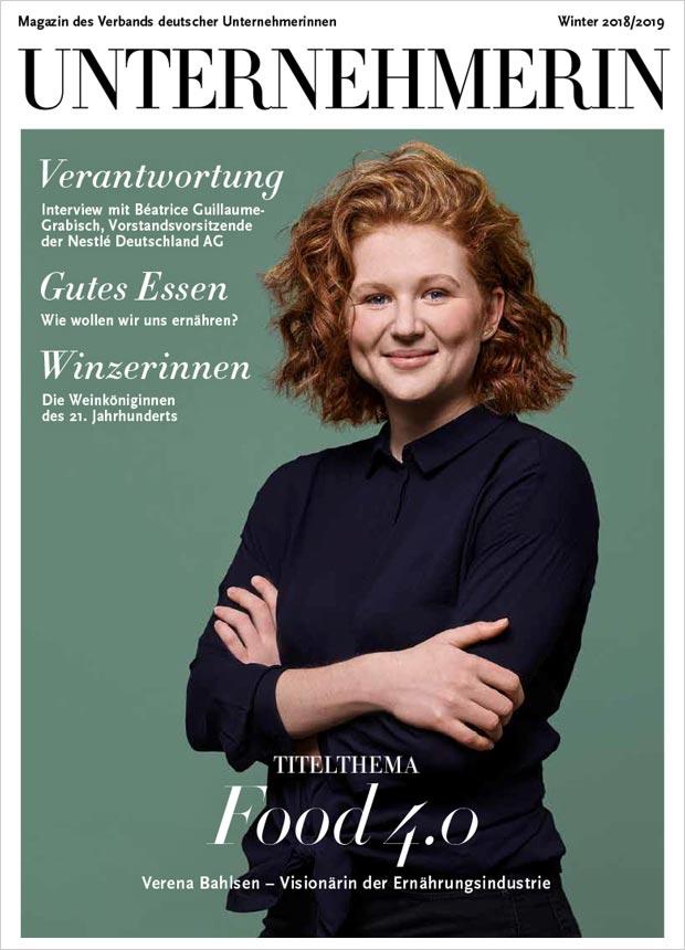 Unternehmerinnen Magazine, Winter 2018