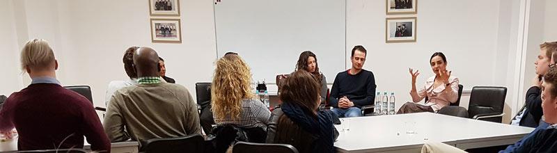 Globe College Alumni Salon, March 2019