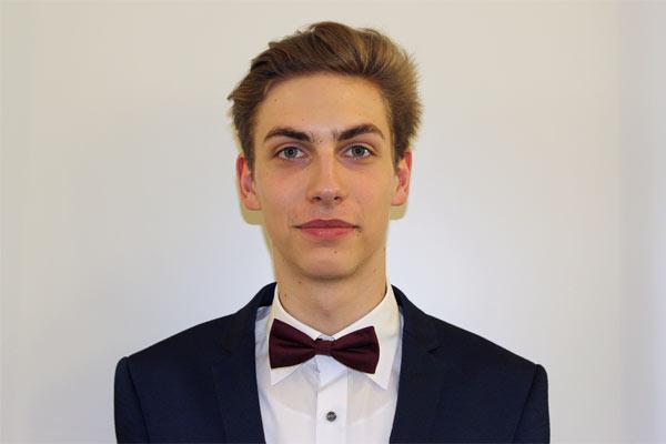 Globe College student Jakub