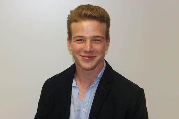 Globe College student Matthias